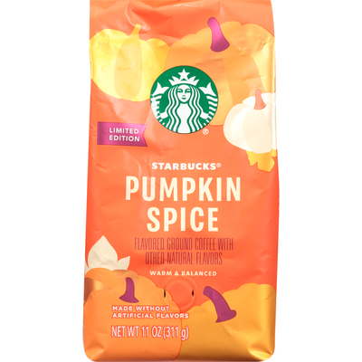 Starbucks Pumpkin Spice Flavored Ground Coffee
