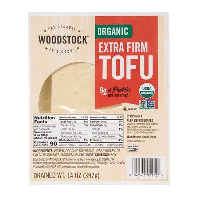 Woodstock Organic Extra Firm Tofu