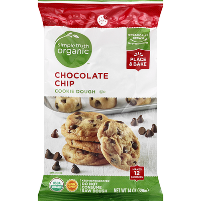 Simple Truth Organic Cookie Dough, Chocolate Chip