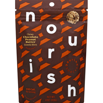Nourish Chewy Granola Bites Chocolate Peanut Butter