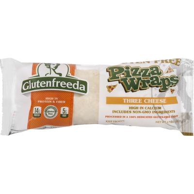 Glutenfreeda Pizza Wraps, Three Cheese