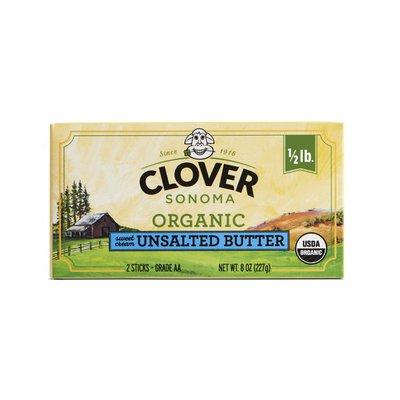 Clover Stornetta Organic Unsalted Butter