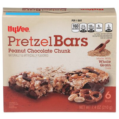 Hy-Vee Peanut Chocolate Chunk Pretzel Bars