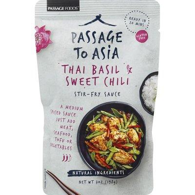 Passage to Asia Stir-Fry Sauce, Thai Basil & Sweet Chili