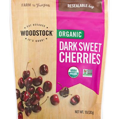 WOODSTOCK Organic Dark Sweet Cherries