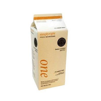 Schroeder 1% Milk