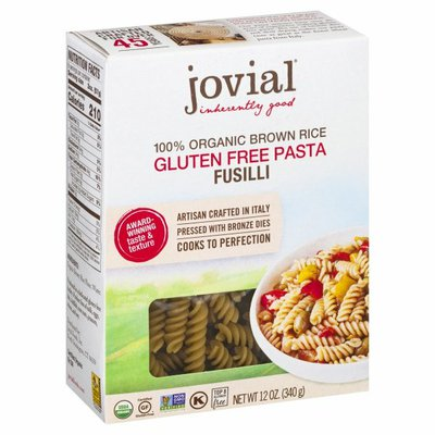 Jovial Pasta, Gluten Free, Fusilli