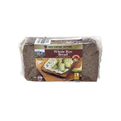 Deutsche Kuche German Whole Rye Bread