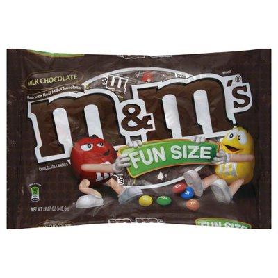 M&M's Chocolate Candies, Milk Chocolate, Fun Size