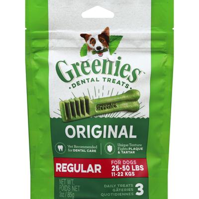 GREENIES Original Regular Daily Dental Treats for Dogs