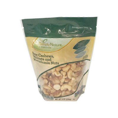 Southern Grove Simply Raw Mixed Nuts
