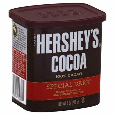 Hershey's Cocoa, Unsweetened, 100% Cacao, Dutched Cocoa, Dark Chocolate