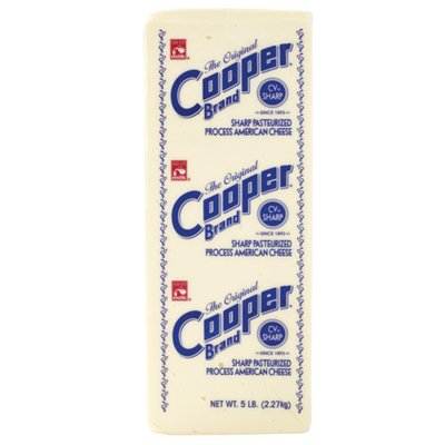 The Original Cooper Brand Sharp Pasteurized Process American Cheese