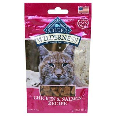 Blue Buffalo Wilderness Grain Free Soft-Moist Cat Treats, Chicken & Salmon