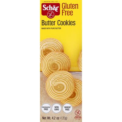 Dr. Schar Butter Cookies, Gluten Free