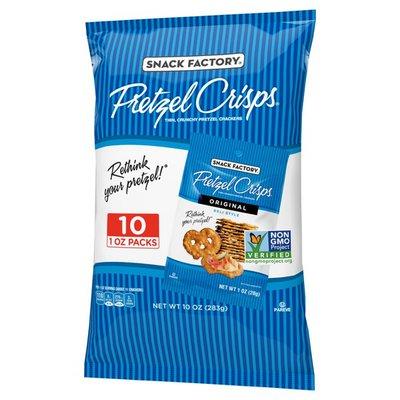 Pretzel Crisps® Original Flavor Pretzel Crisps