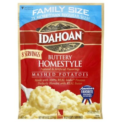 Idahoan Buttery Homestyle Mashed Potatoes Family Size