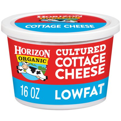 Horizon Organic Lowfat Small Curd Cultured Cottage Cheese