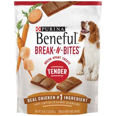 Purina Beneful Break-N-Bites Tender Real Chicken With Carrots & Sweet Potatoes Dog Treats