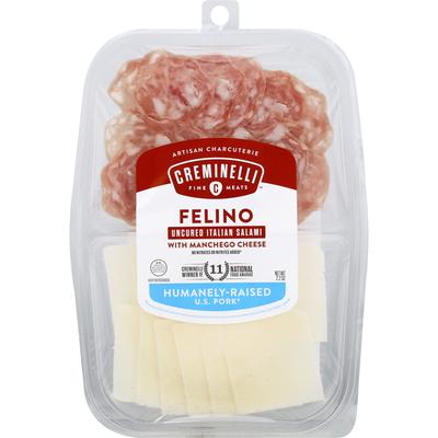 Creminelli Artisan Charcuterie, Felino, with Machego Cheese