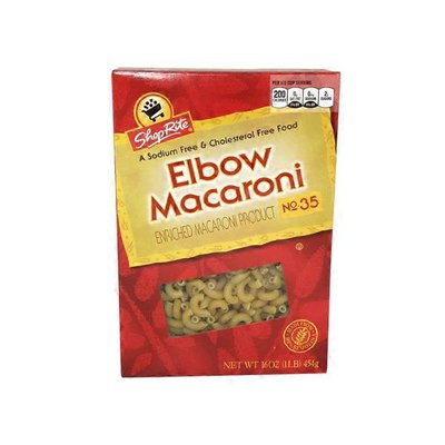 ShopRite ENRICHED MACARONI PRODUCT, Elbow Macaroni