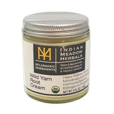 Indian Meadow Herbals Organic Wild Yam Root Cream