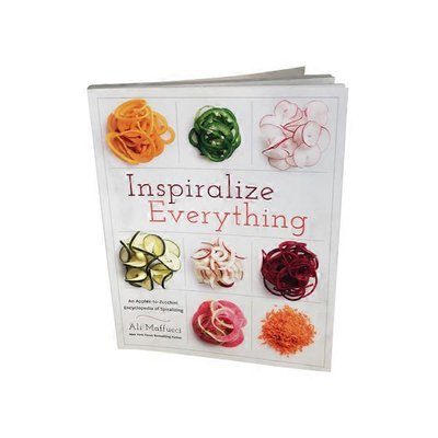 American West Books Inspiralize Everything An Apples-to-Zucchini Encyclopedia of Spiralizing Book