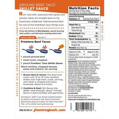 Frontera Foods Ground Beef Taco Skillet Sauce