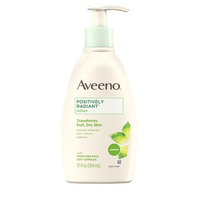 Aveeno Positively Radiant Body Lotion