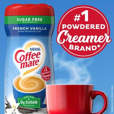 Coffee mate French Vanilla Sugar Free Powder Coffee Creamer