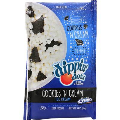 Dippin Dots Ice Cream, Cookies 'N Cream