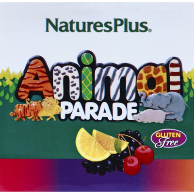 Nature's Plus Multi-Vitamin and Mineral Supplement, Children Chewable, Assorted Flavors, Animal-Shaped Vegetarian Tablets