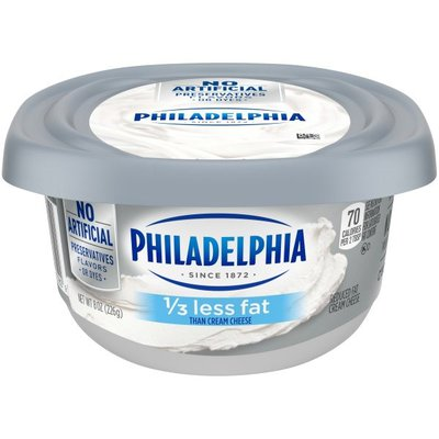 Philadelphia Plain Reduced Fat Cream Cheese Spread