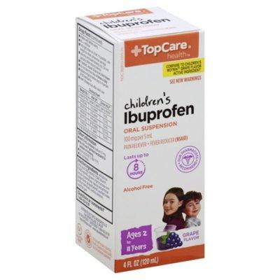 TopCare Ibuprofen, Children's, Oral Suspension, Grape Flavor