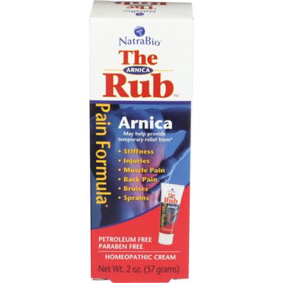 NatraBio Muscle Cream, The Arnica Rub