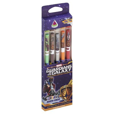 Smencils Colored Pencils, Scented, Marvel Guardians of the Galaxy, Watermelon