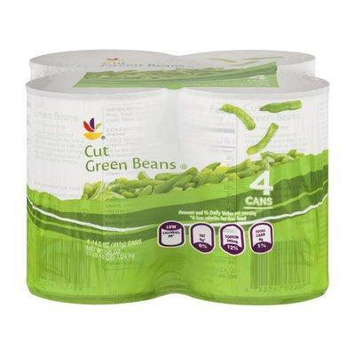 SB Cut Green Beans - 4 PK