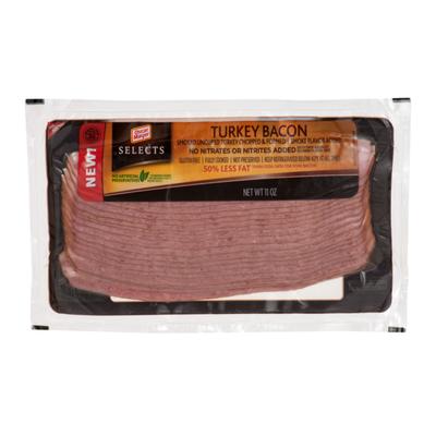 Oscar Mayer Turkey Bacon 50% less fat