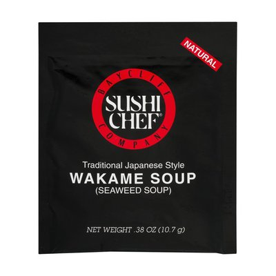 Sushi Chef Wakame Soup Mix Traditional Japanese Style