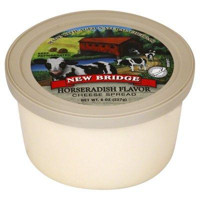 New Bridge Cheese Spread, Horseradish Flavor