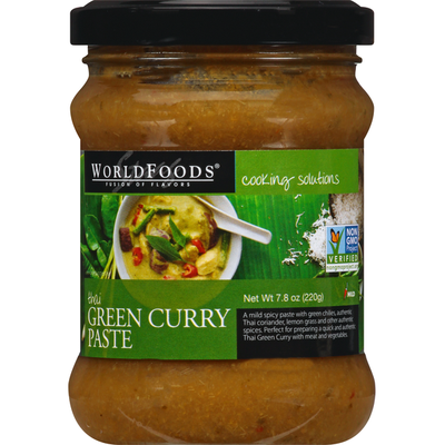 World Foods Green Curry Paste, Thai, Mild