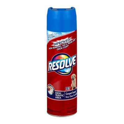 Resolve Stain & Odor Remover Foam, Pet Expert