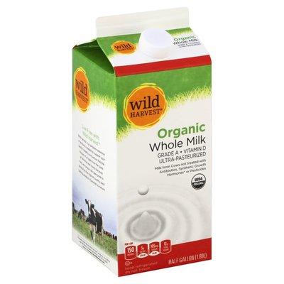 Wild Harvest Milk, Whole, Organic
