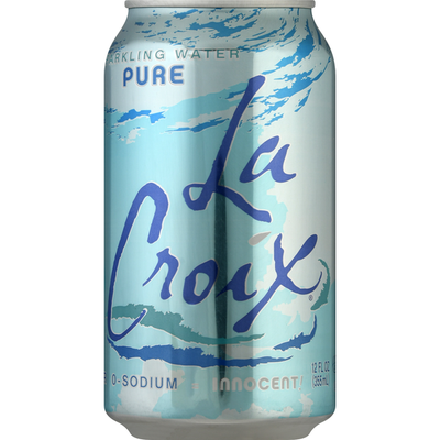 LaCroix Sparkling Water, Pure