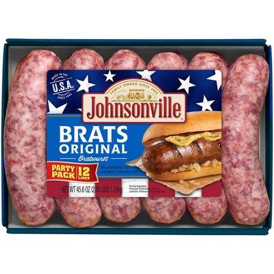 Johnsonville Sausage Original Brats