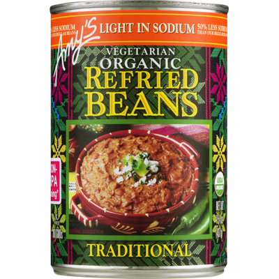 Amy's Kitchen Organic Vegetarian Refried Beans Traditional