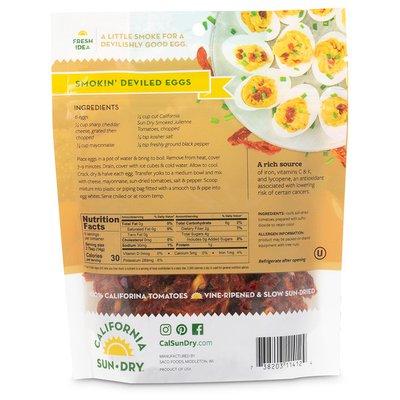 California Sun Dry Smoked Julienne Cut Sun-Dried Tomatoes