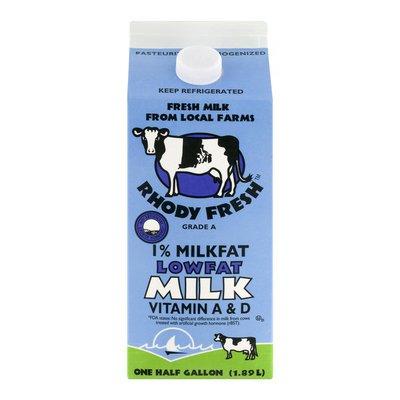 Rhody Fresh Milk 1% Lowfat