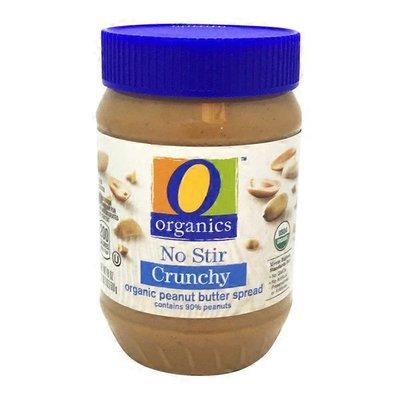 O Organics Crunchy No Stir organic peanut butter spread