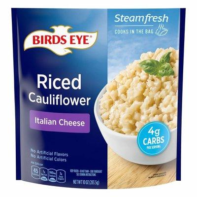 Birds Eye Cauliflower, Riced, Italian Cheese
